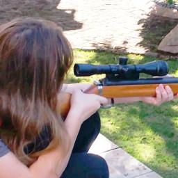 shooting haha guns sniper