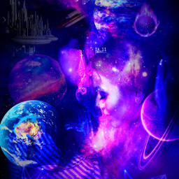 mastershoutout space galaxy galactic universe makeawesome surreal planets stars family mother daughter motheranddaughter dreamy kiss meteor astronaut picsart heypicsart madewithpicsart papicks freetoedit