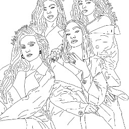 freetoedit littlemix jesy jesynelson leighannepinnock leighanne leigh jadethirlwall jade perrie perrieedwards drawings drawing cute cutie cuties getweird confetti salute lm5 glorydays dna girls girlband outline