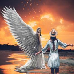 freetoedit paradise happymothersday dead angel madewithpicsart picsartstickers picsarteffects editedbyme unsplash