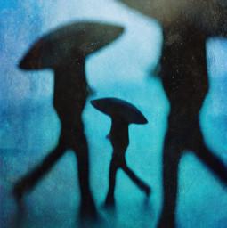 heypicsart iphone mobile mobilelegends fineartphotography texture blur blue silhouette umbrella street manipulation edit dream mood goodvibes onlygoodvibes black rainyday rain