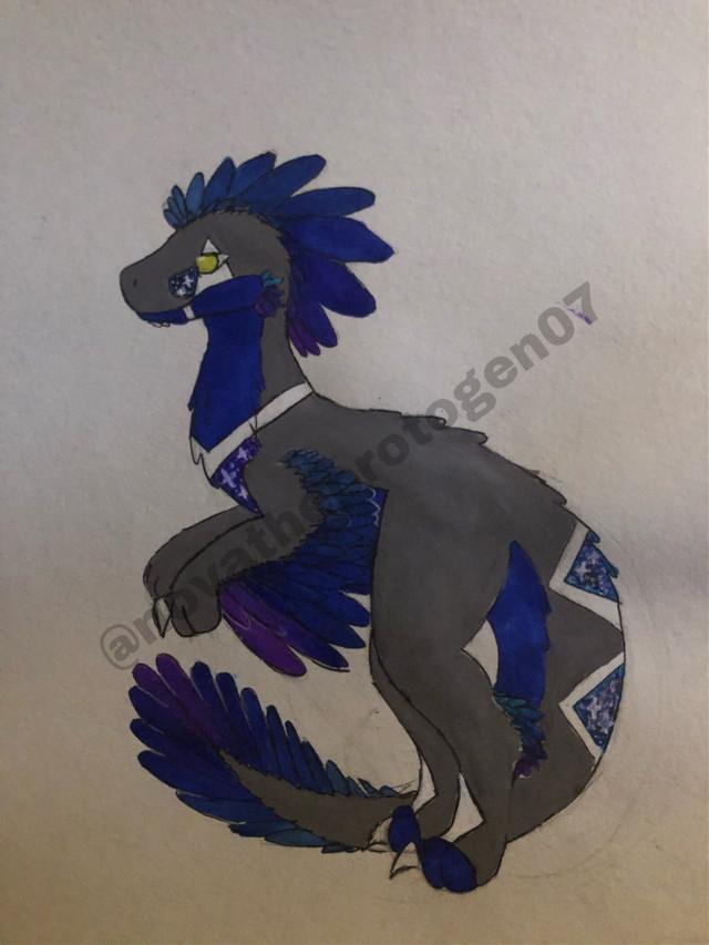 Just a drawing of Talos :D im super excited to fur him soon!!!    #raptor #raptoroc #dino #dinosaur #dinomask #raptormask #art #artist #artwork #arts #fursona #furries #furryfandom
