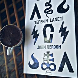 gift mothersday freetoedit book turkishcoffee readingtime johnverdon curseofthehill myfavoritewriter