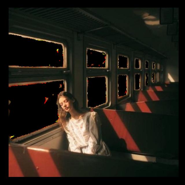 #train #vintageaesthetic #vintage #girlsleeping #trainstation #girl #bus