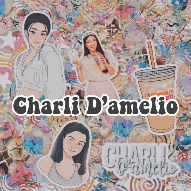charli edit <3 tell me if you like it!  #charlidamelio #edit #complexedit #aesthetic #dunkindonuts #dunkin #damelio #charli #complex #freetoedit