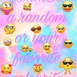 comment celebrity creative emojis emoji tiedye rainbow cursove cool shy trendy freetoedit