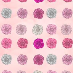 pink roses glitter love wallpaper freetoedit