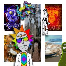 freetoedit edited art inspiration madewithpicsart artistic stickers collage