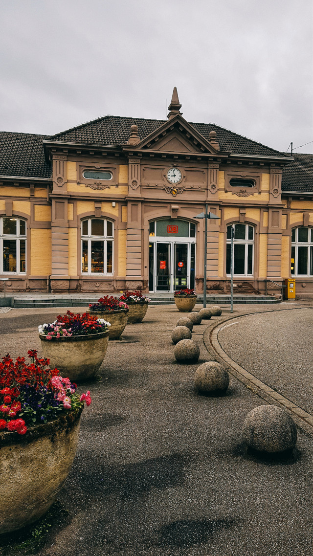 #trainstation #photography #hdr #myhometown