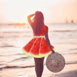 picsart freetoedit myedit myownedit watermelon watermelons watermelonseeds