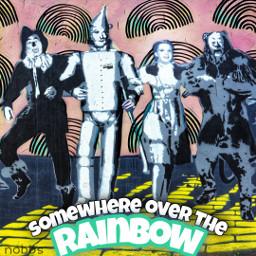 nobbscreative wizardofoz dorothy dorothygale oz followtheyellowbrickroad theresnoplacelikehome wicked lion tinman scarecrow emeraldcity rainbow rainbows freetoedit unsplash rcdoodlerainbows doodlerainbows