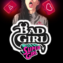 badgirl bitch supergirl instagram instagrammood society lifestyle lifemood life freetoedit