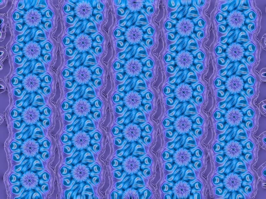#sfghandmade #patterns #background #flowers #purplebackground #bluebackground  #bluepattern #freetoedit #picsarteffects