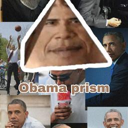 wallpaper obama obamaprism обои freetoedit