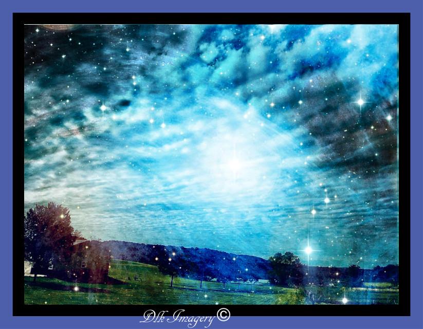 Blue Mood #art #photography #sky #cloudsandsky #artist #danalakat