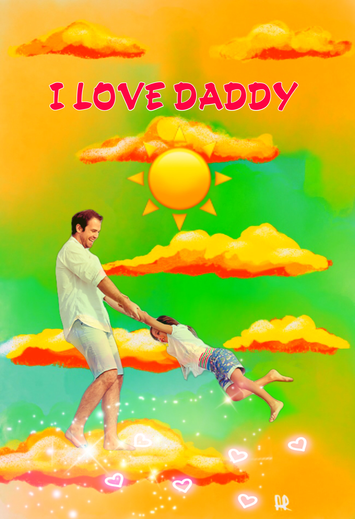 Father's Day #freetoedit #picsart #fathersday #drawing #remix