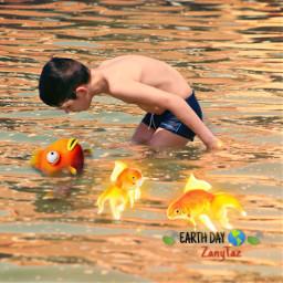 fish child srcgoldenfish goldenfish freetoedit
