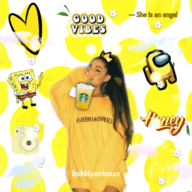 ty for 3 likes on my blue pic! can i get a follower? Yellow moment what is ur fav thing in this pic? -hailey🌻 #arianagrande #bubblyarianas #likes #trending #likepls