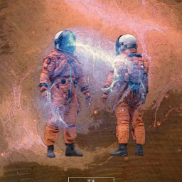 freetoedit yours_awesomeness astronaut spaceart spaceman scifi fictional surreal surrealism madewithpa