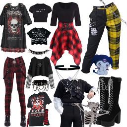 grunge clothes freetoedit