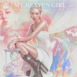 rose roseanne park blackpink fancy rainbow colorful fairy light kpopedit kpop wings fantasy aesthetic filter girl kpopidol korean singer     uksugar singer