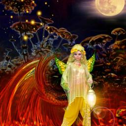 edited art inspiration madewithpicsart artistic stickers fairy flowers artisticeffect lenseflare moonlight freetoedit