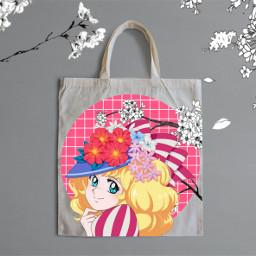 anime animegirl candycandy candycandyanime kawaiigirl freetoedit ircdesignthetotebag designthetotebag