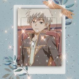 zenwistaria editedbyme kindaaesthetic anime animeboy tookmeanhour sparkle effect art hot animecharacter freetoedit