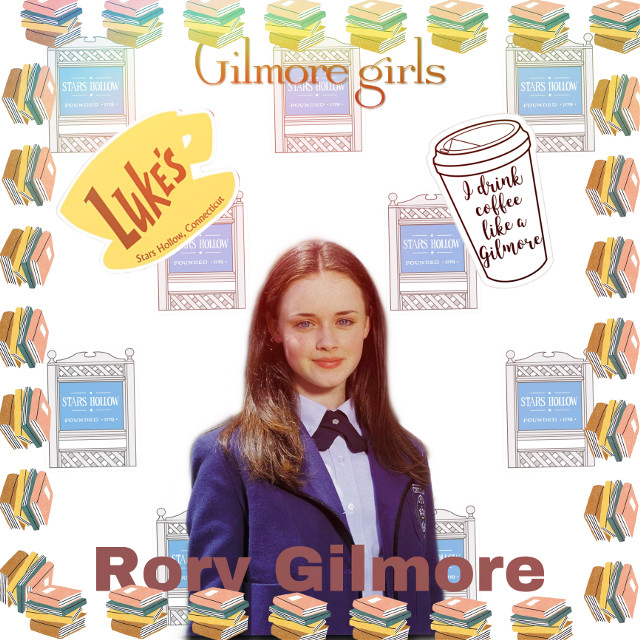 Rory Gilmore!! Anothe one of my fav shows!!! I still need suggestions!!! Help!! #rorygilmore #gilmoregirls #lukesdiner #coffee