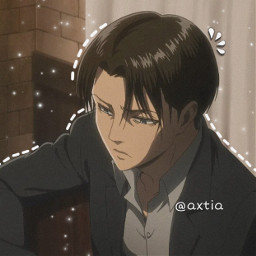 freetoedit anime attackontitan animeboy leviackerman overlays cute like