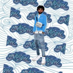 cartel noy blue ecdreamstickersbackground dreamstickersbackground freetoedit
