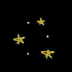 stars yellow freetoedit