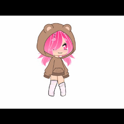 gacha gachalife gachaclub cute girl pink freetoedit