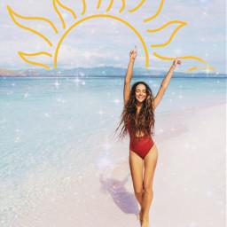 freetoedit sun summer summertime coconutgirl coconutgirlaesthetic summervibes beach