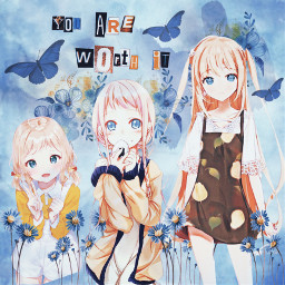 youareworthit stickerremix girlpower madewithpicsart littlegirl girl sisters anime animegirl cute picsarteffects dodger srcyouareworthit freetoedit