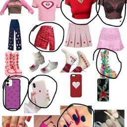 love heart red freetoedit