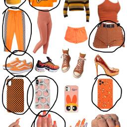 orange outfit freetoedit