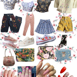 flower floral outfit freetoedit
