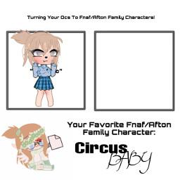 fnaf sisterlocation familyafton aftonfamily freetoedit