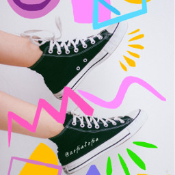 fantasy art color freetoedit shoes