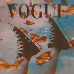 butterflyaesthetic voguecover ircstepbystep stepbystep freetoedit