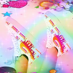 rainbow aesthetic prideflags pride dunkindonuts ircstepbystep stepbystep freetoedit