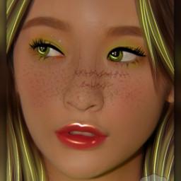 ulzzangedit ulzzsng manip manipulation kpop korea neon billieeilish aesthetic freetoedit