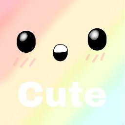 cute rainbow freetoedit