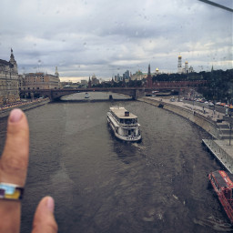 rain weather river city moscow freetoedit