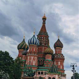 square building travel moscow kremlin freetoedit