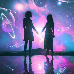 universe galaxy spaceart planets shootingstars people picsart madewithpicsart heypicsart makeawesome myedit myart madewithlove love freetoedit