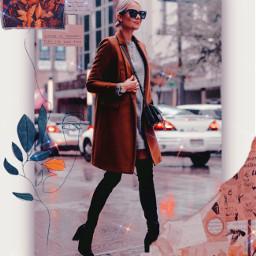 coat frame polaroidframe polaroidphoto powerfulgirl freetoedit
