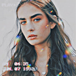 prettygirl hd rainbow picartreplay replay replays picart blurred blur freetoedit