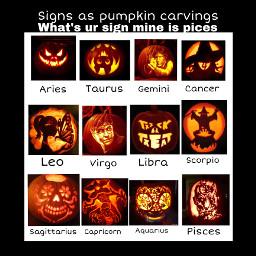 halloween zodiacsign freetoedit